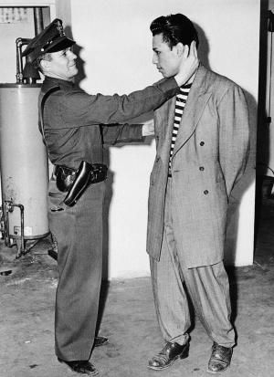 1940 Zoot Suit   Zoot Suit Riots: Sailors vs. pachucos a turning point for Latino ...