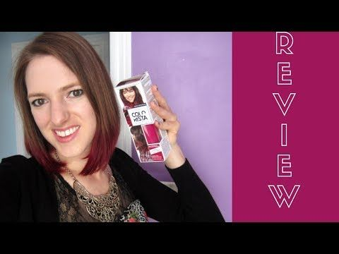 L Oreal Colorista Ombre Dip Dye Red Hair Product Review
