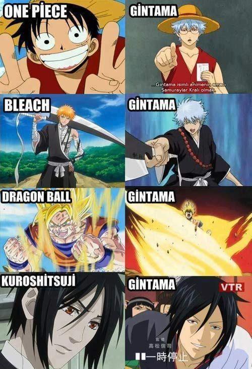 Gintama... terrible X-over