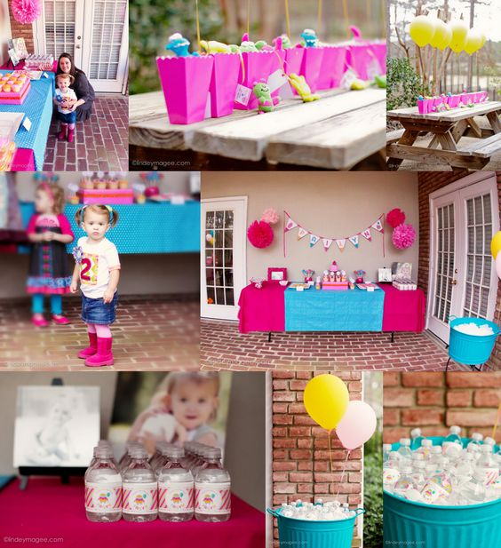 1st birthday party ideas because we kept pay s first for Baby girl first birthday party decoration ideas