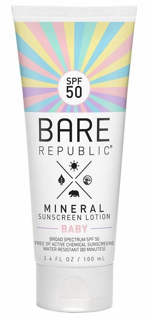 Bare Republic Mineral Sunscreen Lotion Baby Spf 50 Sunscreen