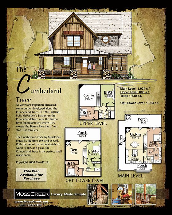Mosscreek designers of luxury timber frame hybrid and for Timber frame hybrid house plans