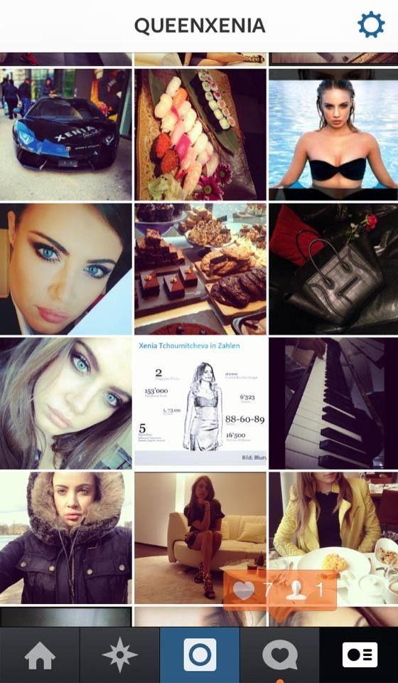 My instagram is queenxenia