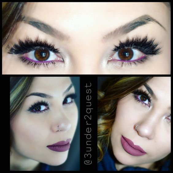 """Too Faced Boudoir Eyes pallet House of Lashes Iconic lashes Gerard Cosmetics """"Cher"""" ColourPop """"piggy bank"""" liner  #falsies #lashes #toofaced #liner #gerardcosmetics #colourpopme #houseoflashes"""