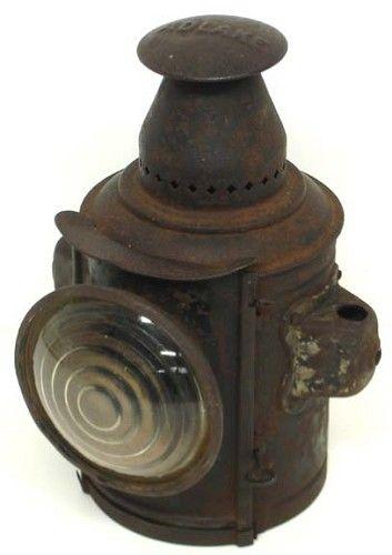 Post 1900 Vintage Adlake Railroad Lantern Lanterns