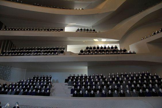 Elbphilharmonie maquette