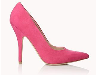 fashion blogger outfit inspiration shop in your own closet heels pink