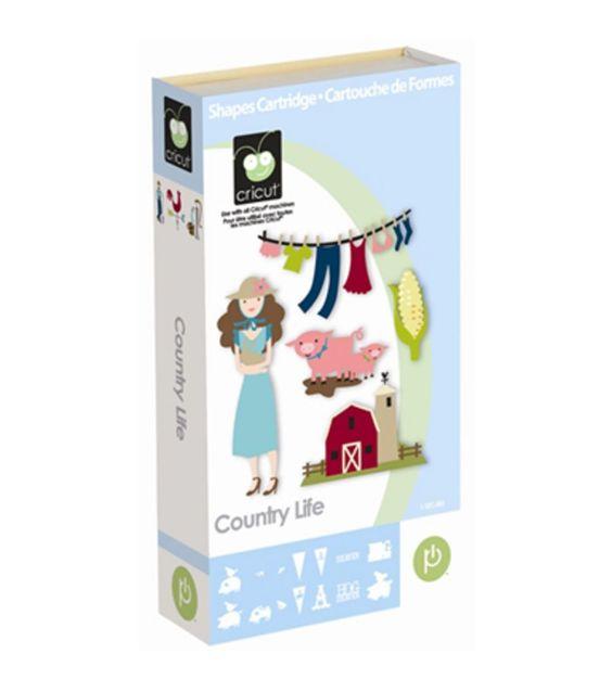 Cricut® Country Life Cartridge                              …