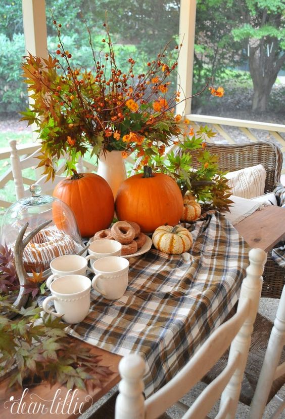 Autumn porch  by Dear Lillie