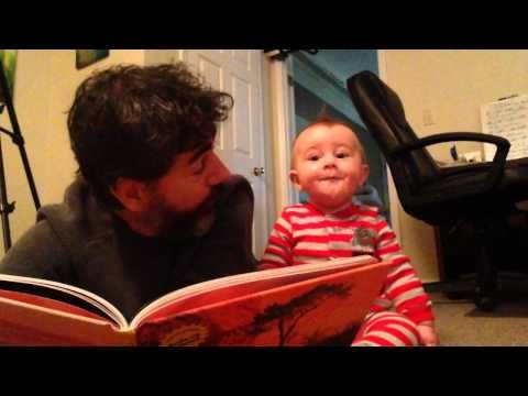 » The Baby Teaches Daddy a Lesson on the Law of Gravity