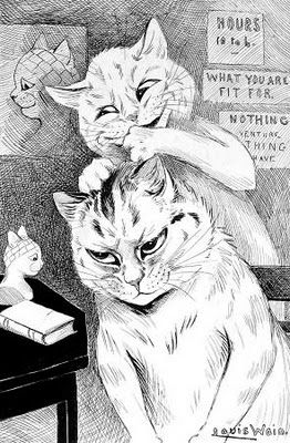 phrenology | Louis Wain: