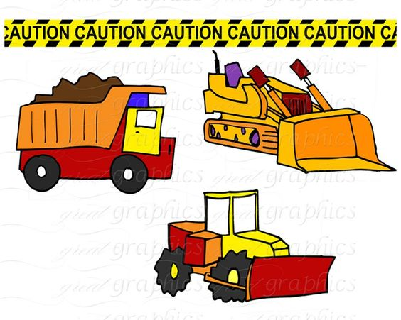printable construction clip art kids dump truck digital clip art rh pinterest ca