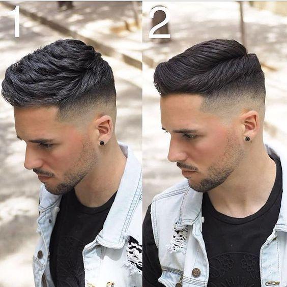 quiff hair