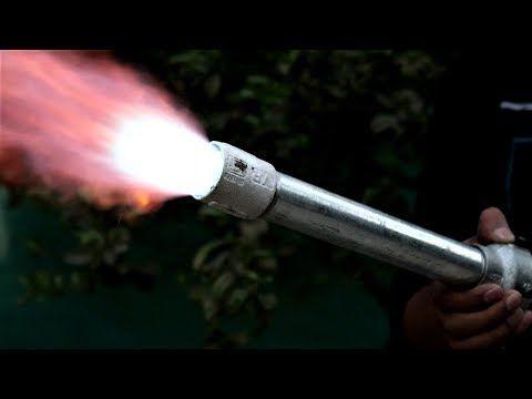 Homemade Dragon Blaster Gas Blaster Propane Torch Youtube In 2020 Propane Gas Torch