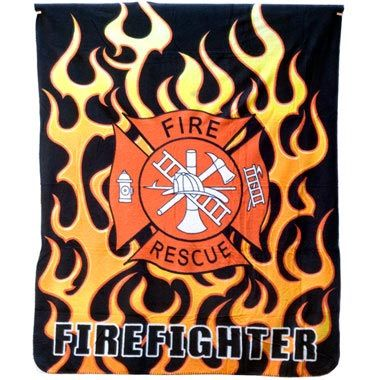 Firefighter Throw Blanket Checkout Special