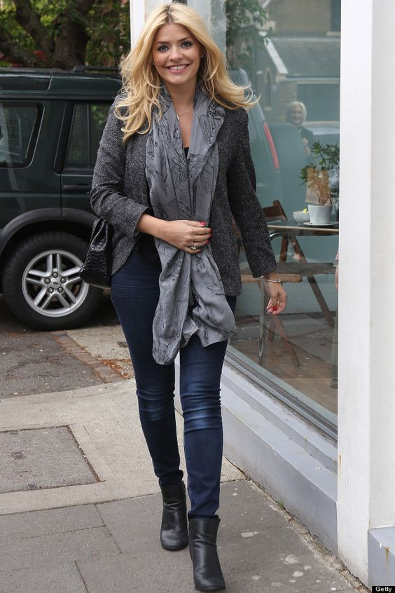 holly willoughby - love this style!