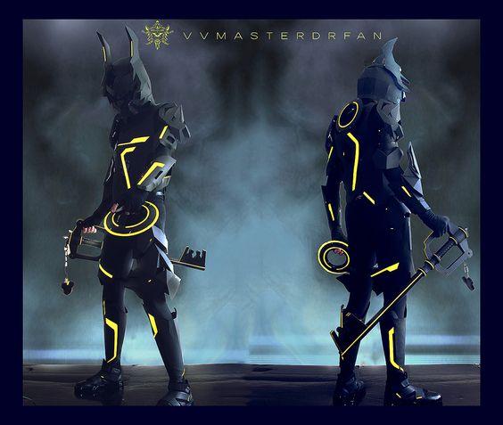 KH:3D Tron x Armored Ventus Nightmare by vvmasterdrfan.deviantart.com on @deviantART