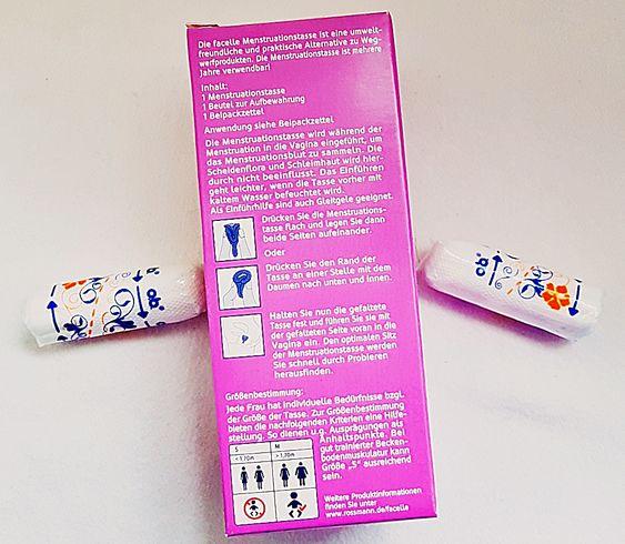 Facelle Menstruationstasse Vorteile