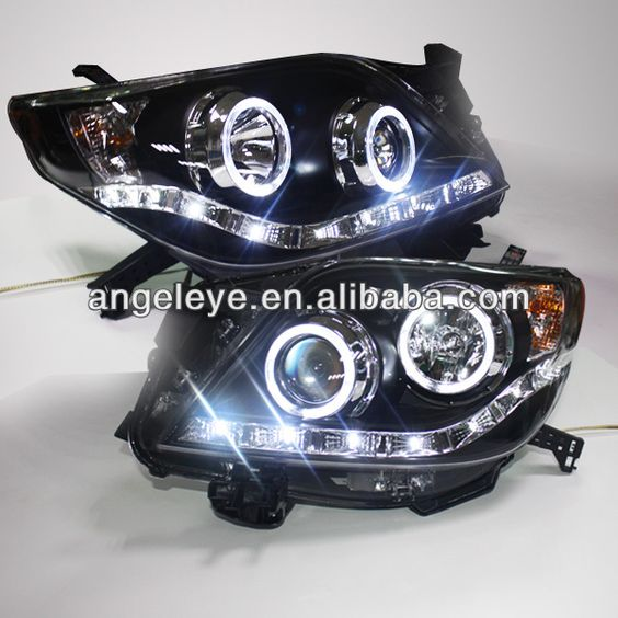 1. Lamp Type: Projector Lens   2. Voltage: 12V   3. Auto Head light   4. Can be used in Prado 2700 FJ150   5. LED Head Lamp
