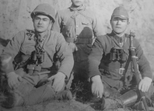 Japanese Soldier Ww2 Iwo Jima japanese soldiers of the 145th infantry ...