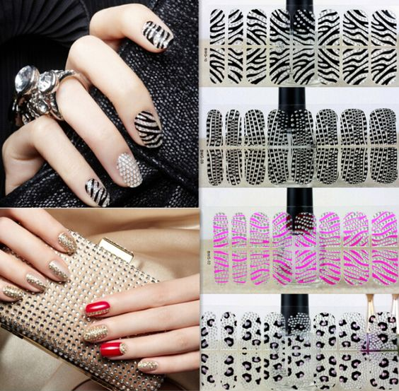 Find More Stickers Decals Information About New Fashion 3d Nail