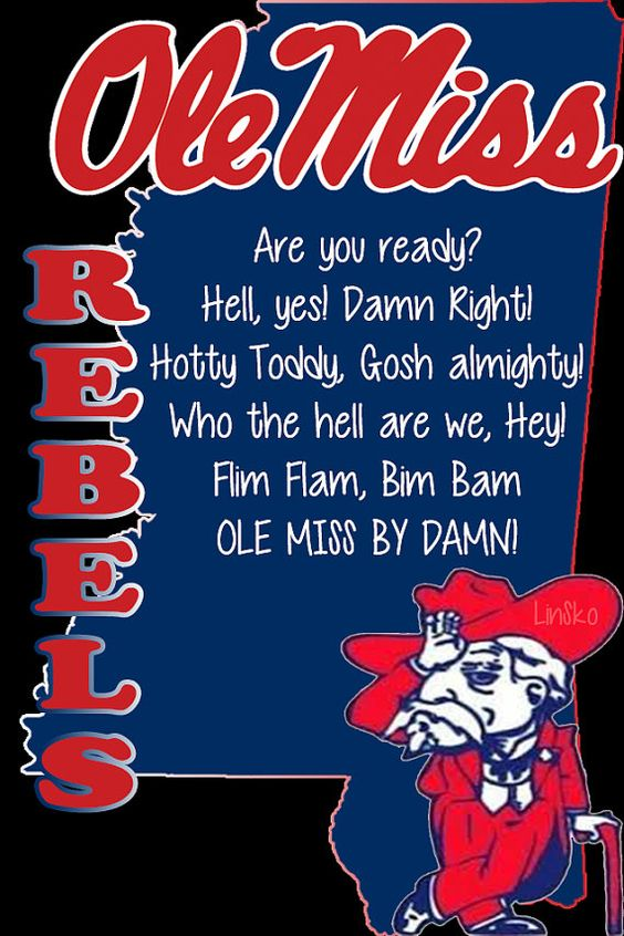 """Ole Miss """"Hotty Toddy"""" wallpaper"""