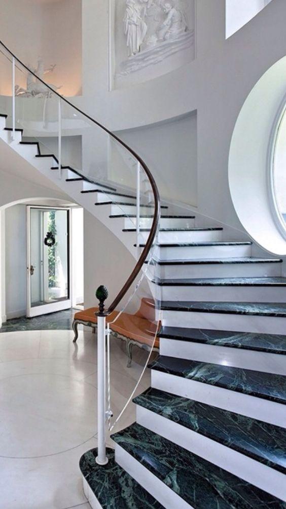 Luxury entrances
