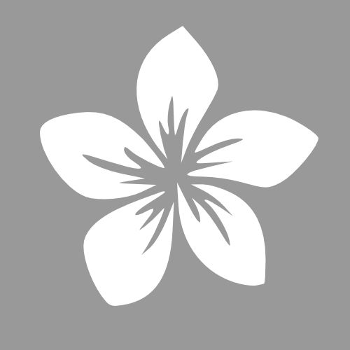 Sjablonen bloemen - Ontwerp eigen sjablonen