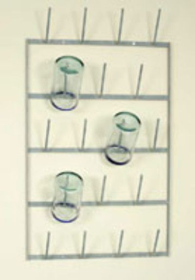 "When you didn't have a dishwasher, this was a great way to dry glasses and bottles. Dimensions: 16.25"" x 4"" x 27"".                                                                                                                                                                                 More"