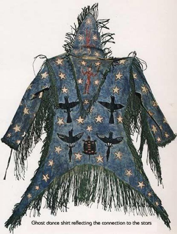 Arapaho Ghost Dance Shirt (from American Indian Art: Form and Tradition).  -  18 Aug 2013