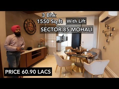 1550 Sq Ft 3 Bedrooms Set Sector 85 Mohali Starting Price 60 90 Lacs Youtube In 2020 Bedroom Sets Power Backup House Design