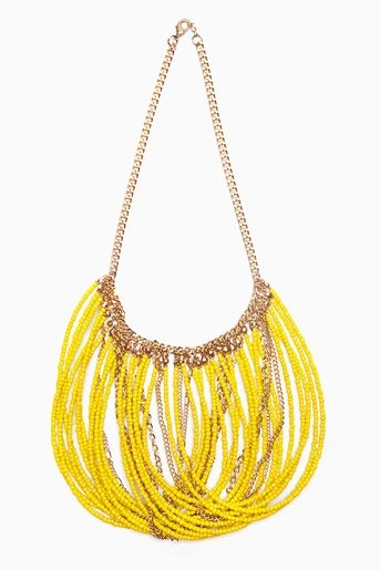 necklace- the way it's strung