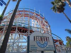 Belmont Park Amusement Park, San Diego, CA