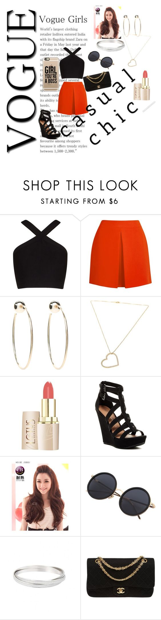 """BO$$"" by crazygurl15 ❤ liked on Polyvore featuring BCBGMAXAZRIA, McQ by Alexander McQueen, Bebe, SeeMe, Chinese Laundry, Clair Beauty, Chanel and Casetify"