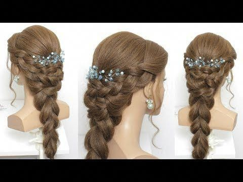 Pull Through And French Braids Hairstyles For Long Hair Youtube Hair Styles Womens Hairstyles Braided Hairstyles