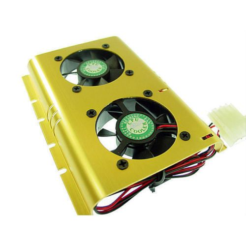 Details About Evercool Hard Disk Cooler Fans Heat Sinks Cooling