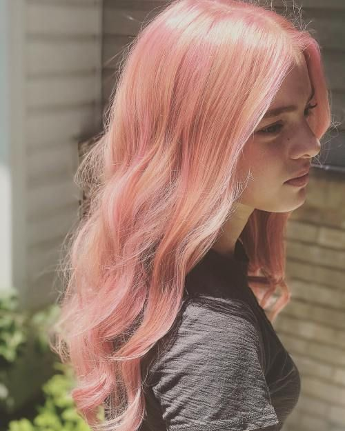 Millennial Pink Hair Is The Tumblr S Most Popular Trend Pink