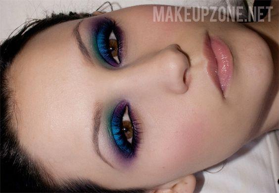 www.makeupzone.net Sugarpill Look
