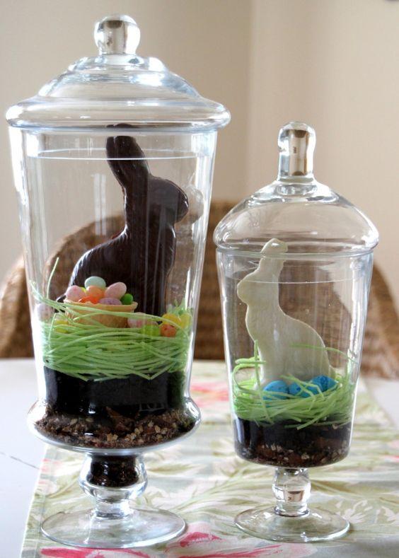 Easy DIY Edible Easter Terrarium!