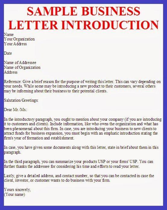 sample business letter introductionjpg (JPEG Image, 554 × 696 - letter of introduction sample
