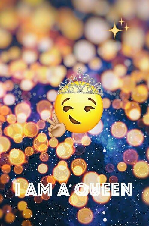 Emoji Princess Is The Queen Cute Emoji Wallpaper Cartoon Wallpaper Iphone Emoji Wallpaper