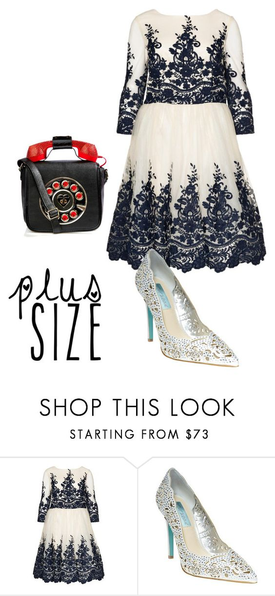 """""""Untitled #760"""" by chenjiaeeglu ❤ liked on Polyvore featuring Betsey Johnson and powerlook"""