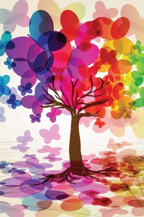 la versatilidad de la imaginación y su bello colorido!