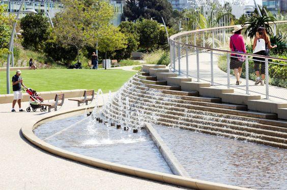 High Line Park Designer James Corner Unveils New Tongva Park in Santa Monica | Inhabitat - Green Design, Innovation, Architecture, Green Building