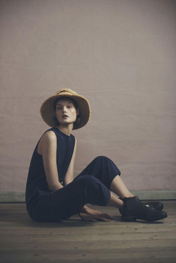 Fringe Hat and Suella Jumpsuit | Samuji Pre-Fall 2015 Collection