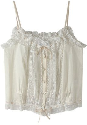 lace camisole / ShopStyle: ビリティス・ディセッタン レースキャミソール