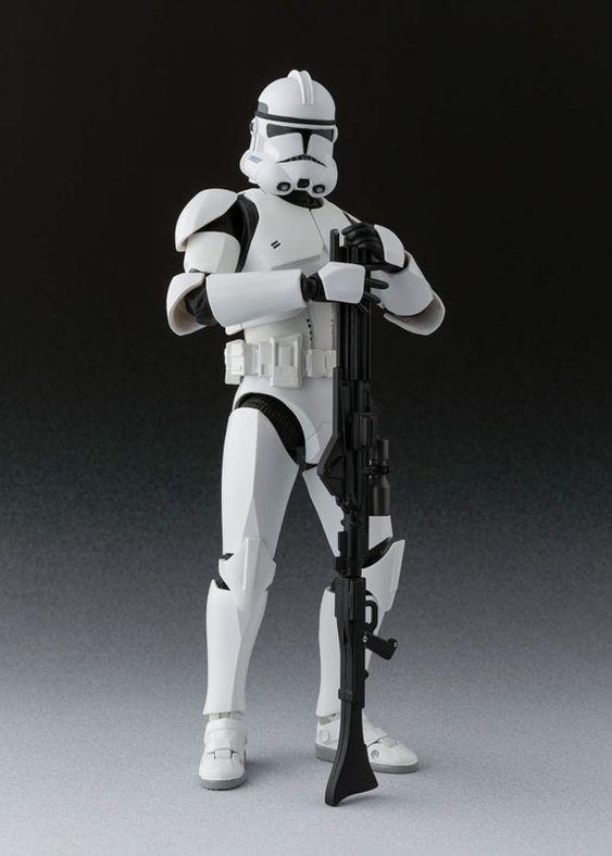 S.H. Figuarts - Clone Trooper Phase 2: