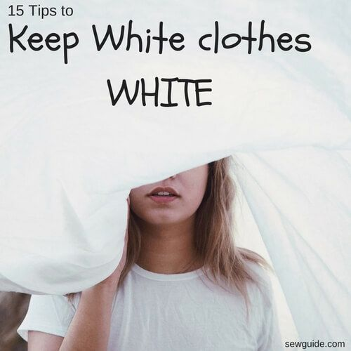 A Guide On How To Wash White Clothes Covering Topics Like Keeping The Whites Retain The Colour Bleaching To Ma Washing White Clothes White Outfits White Wash