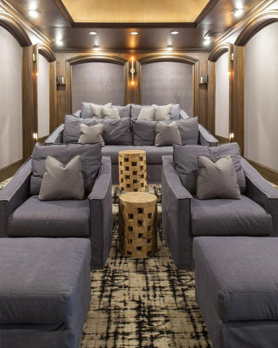 Home Basement Remodeling Ideas And Design Decorating Home Home Theater Rooms Home Theater Design My Dream Home