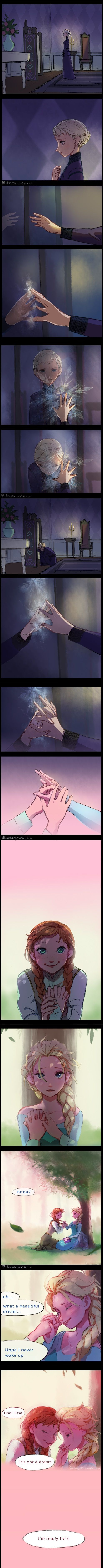 Awww at first I thought the hand was Jack but this is waaaaaaayyyy better!